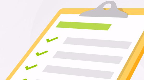 Checkliste de lancement d'un site web