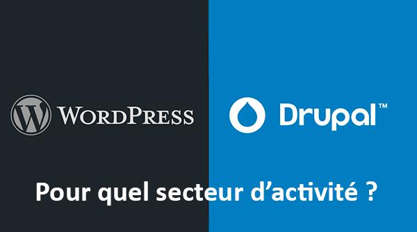 Drupal VS WordPress : Quel CMS utiliser selon votre secteur d'activité