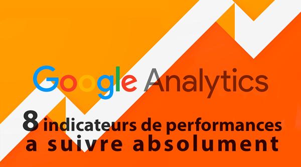 8 indicateurs de performance a suivre dans Google Analytics