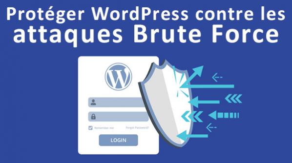 Comment protéger votre site WordPress des attaques par force brute : étape par étape