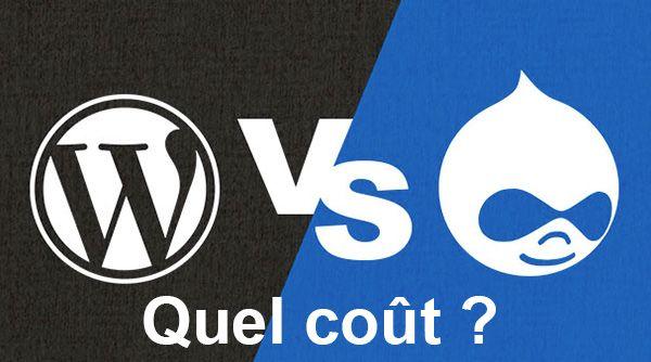 Drupal vs WordPress - Le vrai coût d'un site web